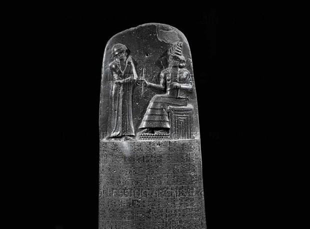 Il Codice di Hammurabi al Museo del Louvre di Parigi