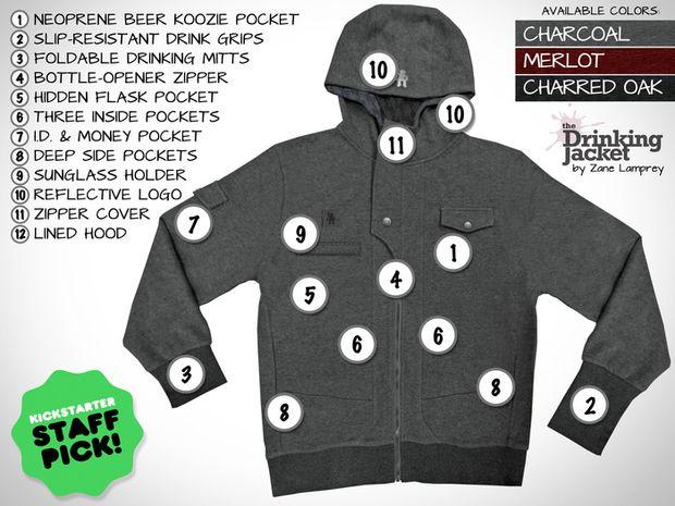 drinking jacket